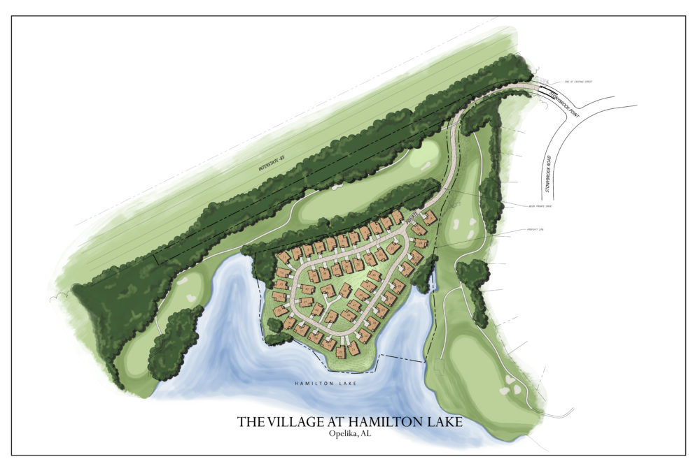 The Village at Hamilton Lake by Toland Construction